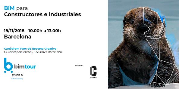 BIMtour: BIM para Constructores e Industriales en Barcelona