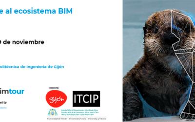 Las jornadas BIMtour se celebrarán en Gijón los días 28 y 29 de noviembre de 2018