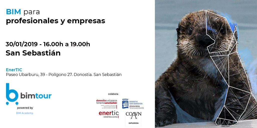 Abiertas las inscripciones para la jornada BIM para profesionales y empresas de San Sebastián