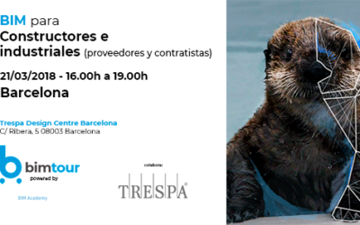 El 21 de marzo, industriales y empresas tienen una cita con el BIM en Trespa Design Centre Barcelona