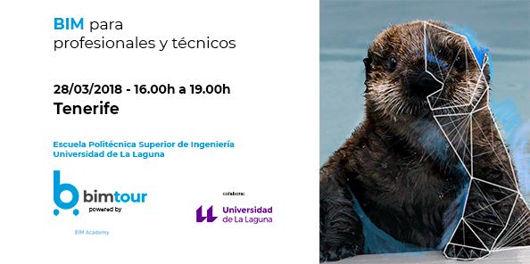 BIM para técnicos y profesionales, el 28 de marzo en Tenerife