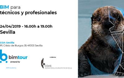 24 de abril a las 16h: BIM para profesionales y técnicos en BIMtour Sevilla