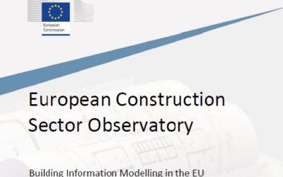 Nuevo informe de la Comisión Europea sobre la implantación del Building Information Modelling en el sector de la construcción de la UE