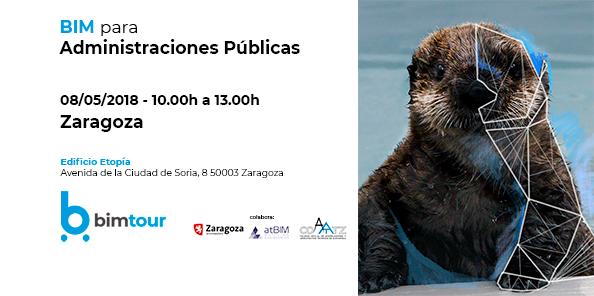Próxima parada BIMtour: 8 de mayo, BIM para Administraciones Públicas en Zaragoza