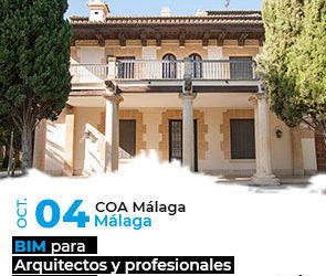 BIM para profesionales del sector AECO en Málaga