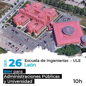 BIM para Administraciones Públicas y Universidad León