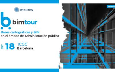 BIMtour: Bases cartográficas y BIM en el ámbito de Administración pública en Barcelona