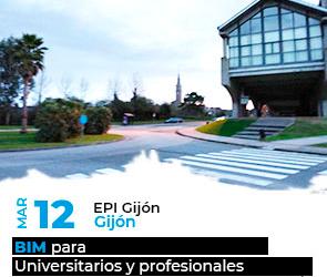 BIM para Universidad y profesionales del sector AECO en Gijón