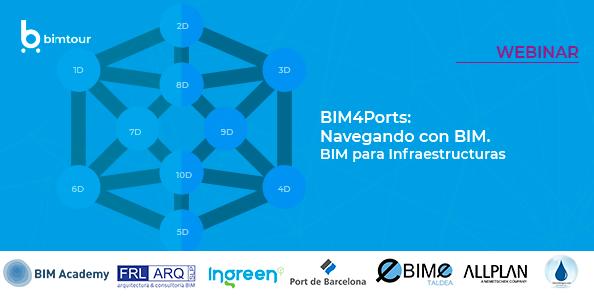 Webinar_BIM4Ports: El uso del BIM para infraestructuras portuarias