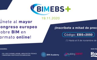 Vuelve el European BIM Summit con un formato 100% virtual