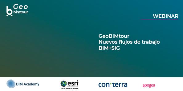 Webinar_GeoBIMtour: Nuevos flujos de trabajo BIM+SIG
