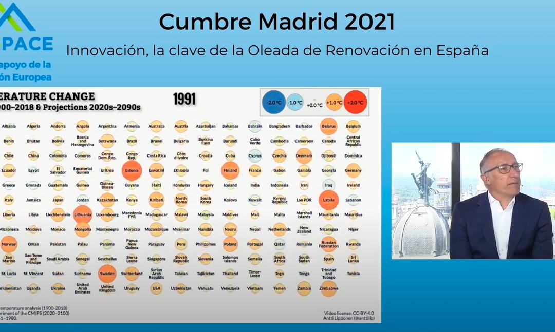 La Cumbre Madrid 2021 reunió a los principales actores públicos y privados para hacer realidad la Oleada de Renovación en España