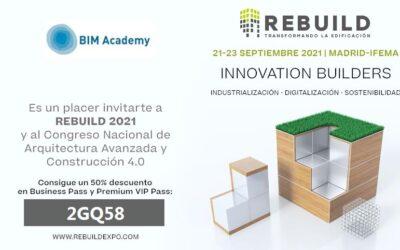 REBUILD 2021 arranca mañana en Madrid con más de 8.000 congresistas y un impacto de 17 millones de euros para la ciudad